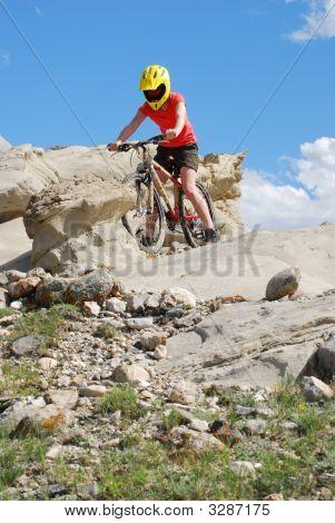Bouldering On Bike