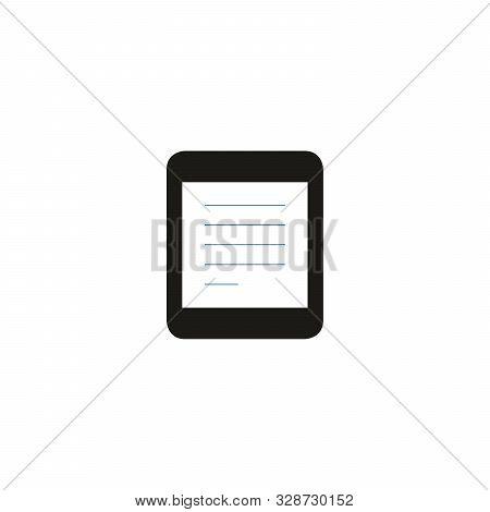 Retro Photo Frame Vector Design. Stock Vector Illustration Isolated On White Background.