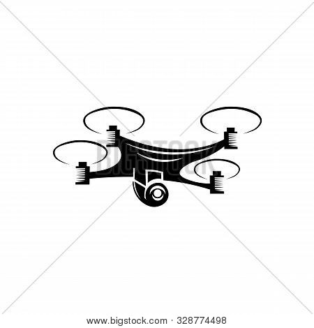 Inspiration Camera Drone Logo Template Design Vector, Emblem, Design Concept, Creative Symbol, Icon