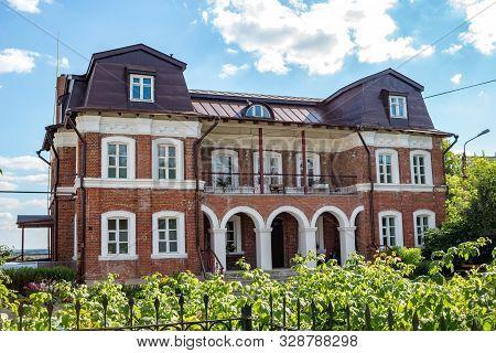 Serpuhov, Russia - August 2017: Vvedensky Vladychny Convent (vvedenskiy Vladychnyi Monastyr) In Serp