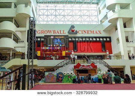 Kota Kinabalu,sabah-june 1,2019:view Of Growball Cinemax In Centre Point Shopping Centre,kota Kinaba