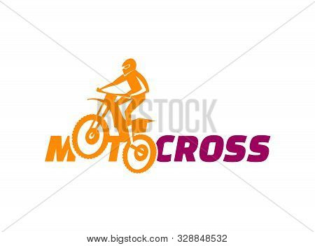 Offroad Motocross Adventure. Mountain Bike Competition. Flying Biker. Freestyle Event. Active Lifest