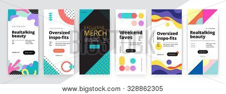 Modern Promotion Rectangular Web Banner For Social Media Mobile Apps. Elegant Sale And Discount Prom