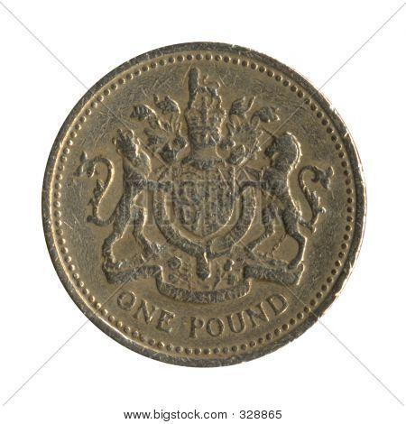 British Pound Coin Back Design 3