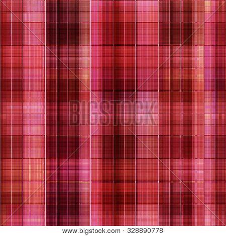 Seamless Checkered Plaid Tartan Pattern Background  Retro