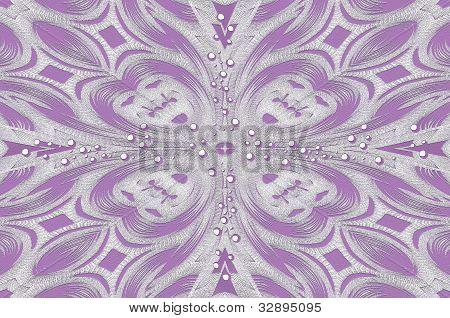 Polka Dot Cardstock Lilac