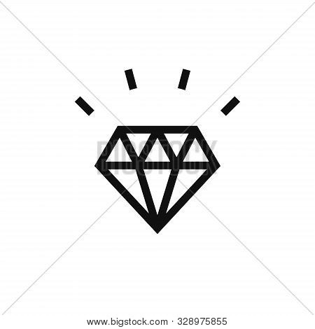 Diamond Icon. Diamond Icon Eps10. Diamond Icon Vector. Diamond Icon Vector Illustrations. Diamond Ic