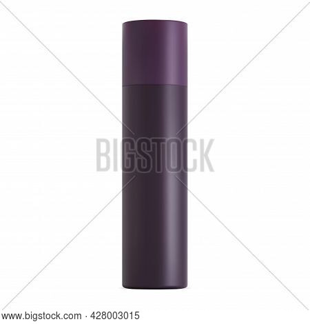 Spray Bottle Mockup. Hairspray Aerosol Can Blank. Air Freshener Cylinder Template. Realistic Sprayer