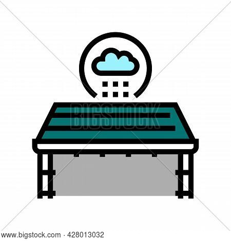 Roof Waterproofing Color Icon Vector. Roof Waterproofing Sign. Isolated Symbol Illustration