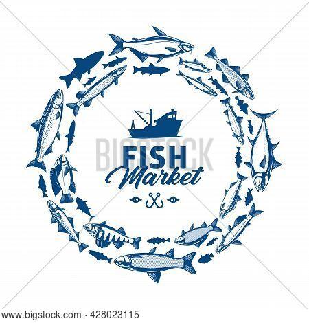 Vector Fish Banner