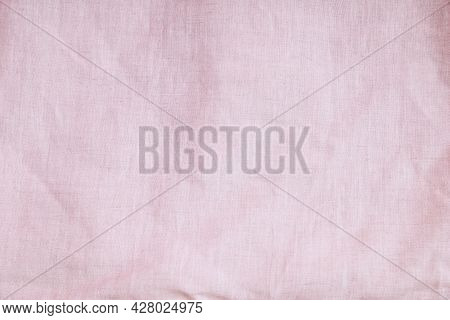 Pink Cloth Texture.clean Eyes, Giving A Sweet Feeling.this Is The Texture Of Woven Bags Instead Of P