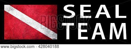 Seal Team Diver, Diver Down Flag, Scuba Flag, Scuba Diving