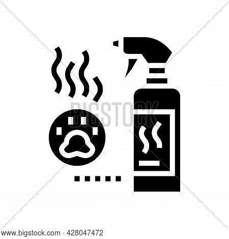 Odor Neutralizer Glyph Icon Vector. Odor Neutralizer Sign. Isolated Contour Symbol Black Illustratio