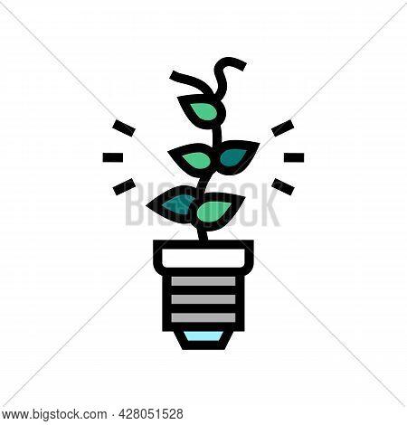 Alternative Energy Color Icon Vector. Alternative Energy Sign. Isolated Symbol Illustration