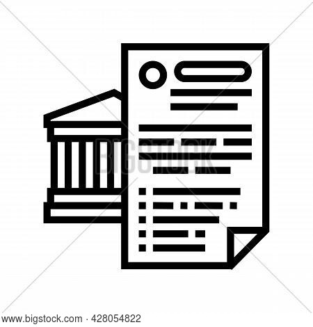Possibility Of Using Various Banking Products Line Icon Vector. Possibility Of Using Various Banking