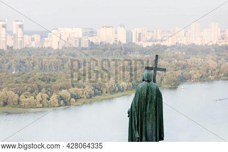 Saint Vladimir Monument On The Kyiv Hills, Ukraine