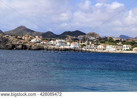 Beautiful Cabo De Palos Coast And Pier (murcia Community, Spain) On A Sunny Day Of Summer