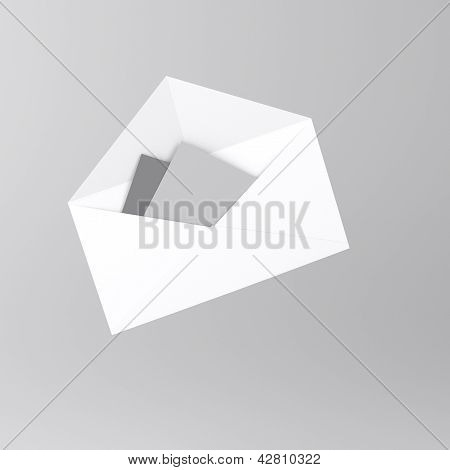 Envelope with letter icon