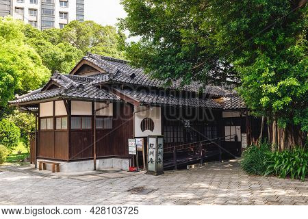 July 26, 2021: Kishu An Forest Of Literature In Taipei, Taiwan. It Was Used To Be A Restaurant Under