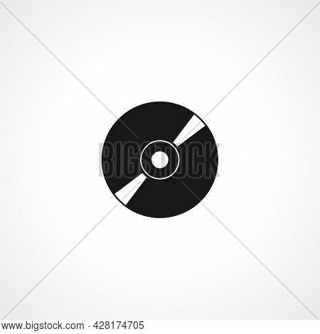 Drive Icon, Cd Icon. Drive Icon, Cd Simple Vector Icon. Drive Icon, Cd Isolated Icon.