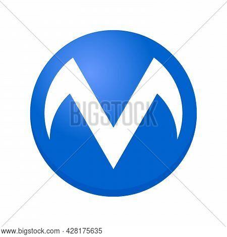M Logo, M Letter Design Vector, M Initial Logo, M Circle Logo, M Creative Logo, M Inspiring Logo, M