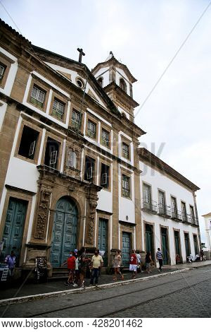 Holy House Of Mercy In Salvador