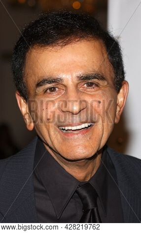LOS ANGELES - AUG 19: Casey Kasem arrives for the 2nd Annual 'Runway For Life' Celebrity Fashion Show on August 19, 2003 in Beverly Hills, CA