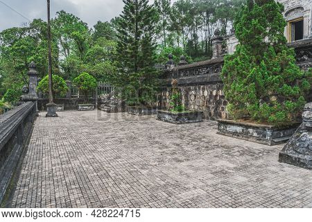 Khai Dinh Tomb Emperor In Hue, Vietnam. A Unesco World Heritage Site. Hue, Vietnam