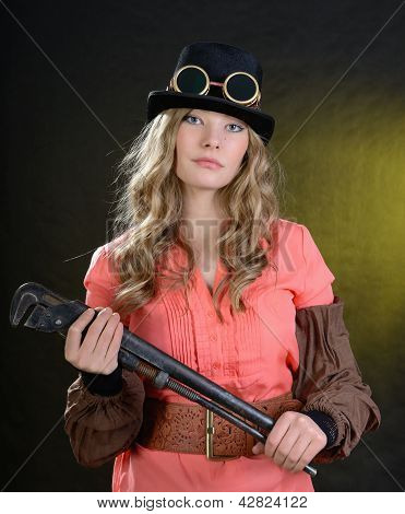 Steampunk Female.