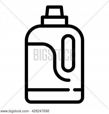 Cleaner Bottle Icon. Outline Cleaner Bottle Vector Icon For Web Design Isolated On White Background