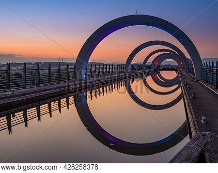 Reflections Of Flakirk Wheel