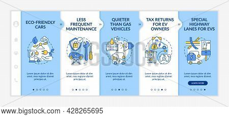 Eco-friendly Tax Returns Onboarding Vector Template. Responsive Mobile Website With Icons. Web Page