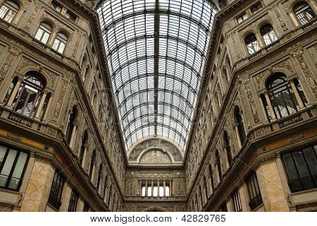 Galleria Umberto Primo In Naples