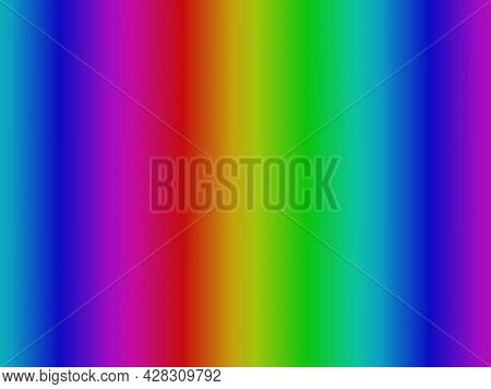 Abstract Background, Multicolored Vertical Radiance Dynamic Decorative Gradient Rays Pattern