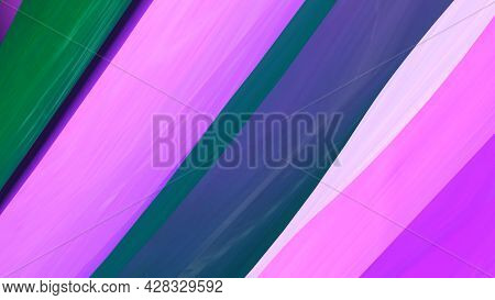 Colorful Lines Glow Shimmering. Motion. Beautiful Background Of Shimmering Diagonal Lines Changing C