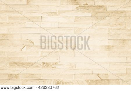 Empty Brick Wall Texture Or Brick Wall Background. Brown Brick Wall For Interior Exterior Decoration
