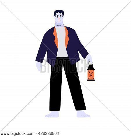 Halloween Character, Happy Halloween. Modern Vector Illustration Cartoon Flat Style