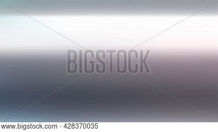 Image Of Realistic Chrome Color Metal Texture