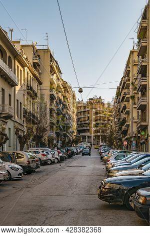 Urban Scene, Athens, Greece
