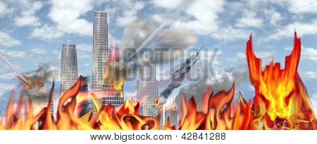 The Beast Says Its Armageddon