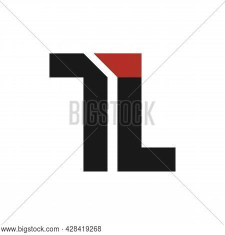 Illustration Vector Graphic Of Tl Letter Logo