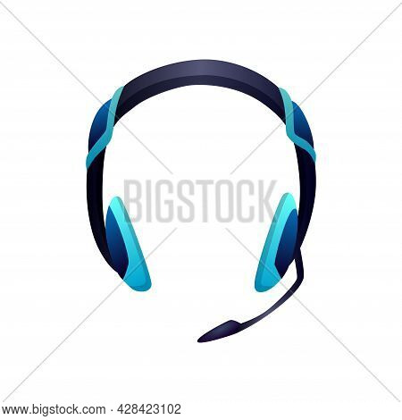 Gaming Equipment. Headphone With Microphone For Gaming Entertainment. E-sport Accessorie. Element Fo