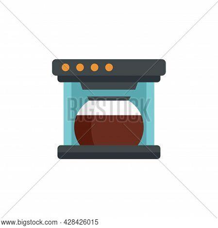 Automatic Coffee Machine Icon. Flat Illustration Of Automatic Coffee Machine Vector Icon Isolated On