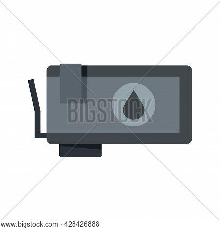 Ink Cartridge Icon. Flat Illustration Of Ink Cartridge Vector Icon Isolated On White Background