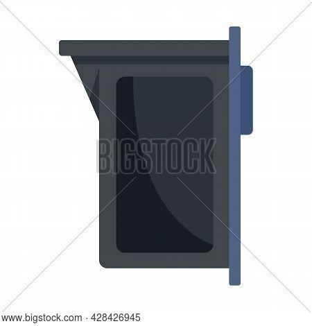Print Cartridge Icon. Flat Illustration Of Print Cartridge Vector Icon Isolated On White Background