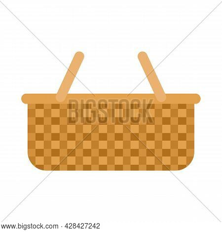 Handle Wicker Icon. Flat Illustration Of Handle Wicker Vector Icon Isolated On White Background