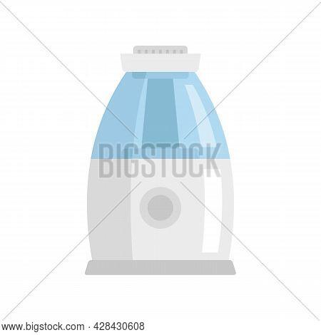 Comfort Air Purifier Icon. Flat Illustration Of Comfort Air Purifier Vector Icon Isolated On White B