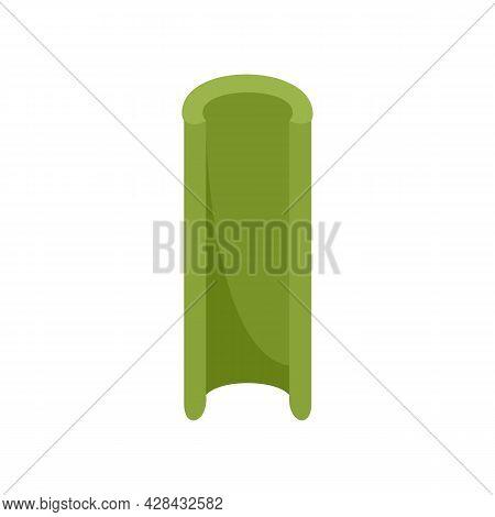 Celery Icon. Flat Illustration Of Celery Vector Icon Isolated On White Background
