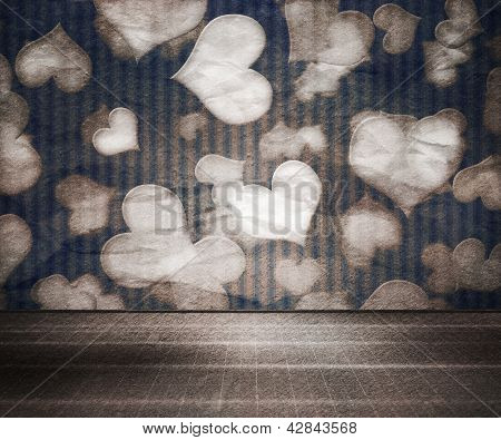 Vintage Love Interior Room Background