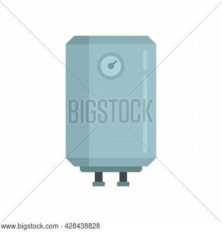 Warming Boiler Icon. Flat Illustration Of Warming Boiler Vector Icon Isolated On White Background